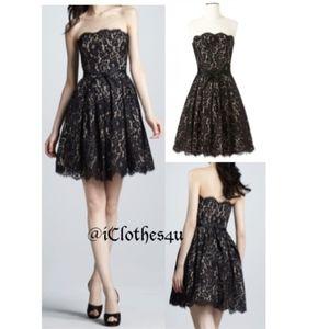 Chantilly Lace Black Party Dress